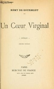 Cover of: Un coeur virginal