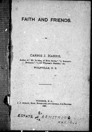 Cover of: Faith and friends |