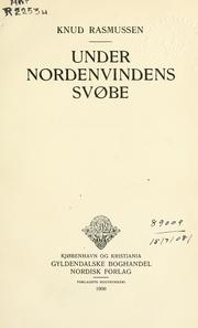 Cover of: Under Nordenvindens Svøbe
