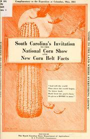 South Carolina's invitation to the National Corn Show and ...