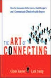 Cover of: The art of connecting | Claire Raines