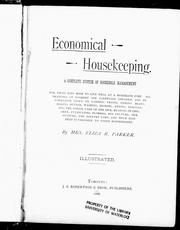 Cover of: Economical housekeeping |