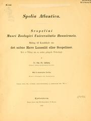 Cover of: Spolia Atlantica