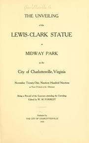 unveiling of the Lewis-Clark statue