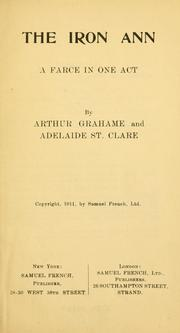 Cover of: iron Ann | Arthur Grahame