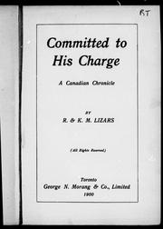 Cover of: Committed to his charge
