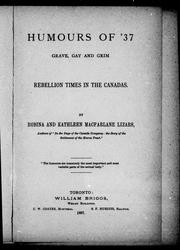 Cover of: Humours of