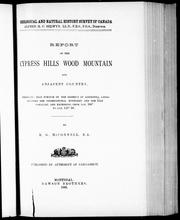 Cover of: Report on the Cypress Hills, Wood Mountain and adjacent country |