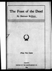 Cover of: The feast of the dead |