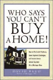 Cover of: Who Says You Can't Buy a Home!