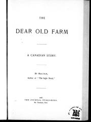 Cover of: The dear old farm |