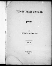 Cover of: Voices from nature |