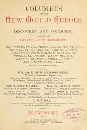 Cover of: Columbus and the New world heroes of discovery and conquest