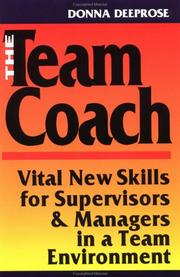 Cover of: The team coach | Donna Deeprose