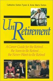 Cover of: UnRetirement | Catherine D. Fyock
