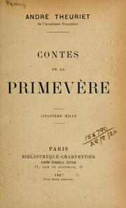 Cover of: Contes de la primevère