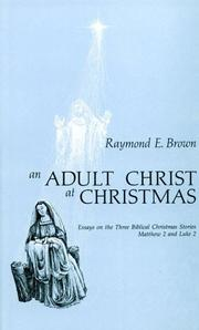 Cover of: An adult Christ at Christmas