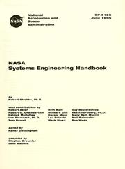 Cover of: NASA systems engineering handbook by Robert Shishko