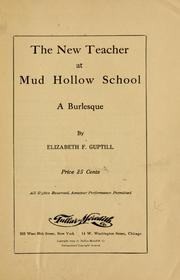Cover of: new teacher at Mud Hollow School ... | Elizabeth Guptill
