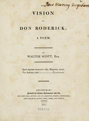 Cover of: The vision of Don Roderick: a poem