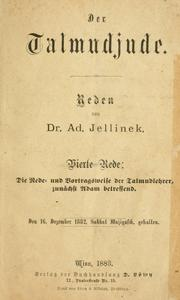 Cover of: Der Talmudjude