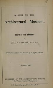 A visit to the Architectural Museum by John Pollard Seddon