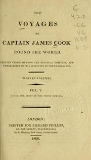 The voyages of Captain James Cook round the world by Greg Atkinson