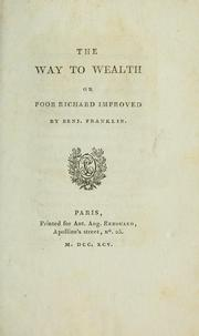 Cover of: Way to wealth