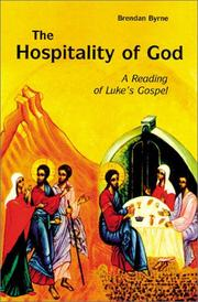 Cover of: The hospitality of God