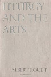 Cover of: Liturgy and the arts