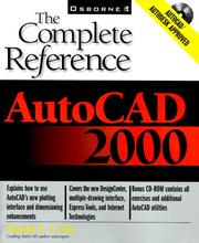 Cover of: AutoCAD 2000