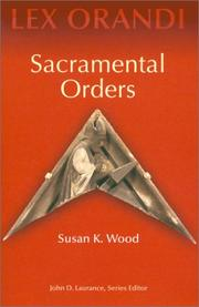 Cover of: Sacramental orders