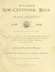 Cover of: Willey's semi-centennial books of Manchester, 1846-1896 by George Franklyn Willey