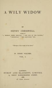 Cover of: wily widow | Henry Cresswell