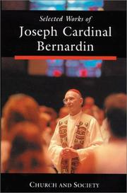 Cover of: Selected Works of Joseph Cardinal Bernardin  | Joseph Cardinal Bernardin