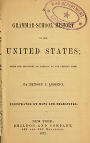 Cover of: A grammar-school history of the United States