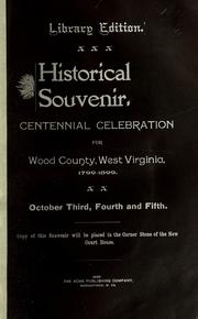 Cover of: Wood County formation