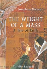 Cover of: The weight of a Mass