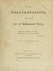 Cover of: The wreath of fashion; or, The art of sentimental poetry