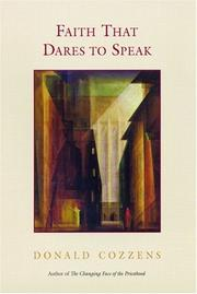 Cover of: Faith That Dares To Speak | Donald Cozzens