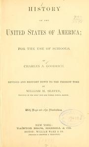 Cover of: History of the United States of America | Charles Augustus Goodrich