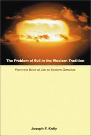 Cover of: The Problem of Evil in the Western Tradition | Joseph F. Kelly