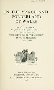 Cover of: In the march and borderland of Wales