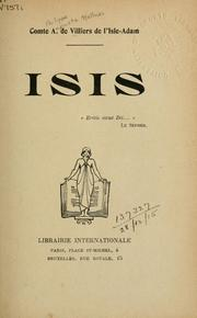 Cover of: Isis
