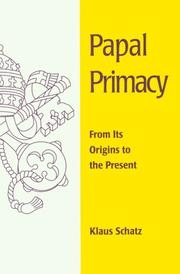Cover of: Papal primacy