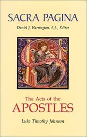 Cover of: The Acts of the Apostles