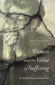 Cover of: Women and the value of suffering