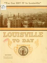 Cover of: Louisvile to day | Commercial club, Louisville, Ly