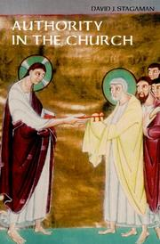 Cover of: Authority in the church