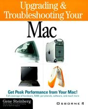 Cover of: Upgrading & troubleshooting your Mac